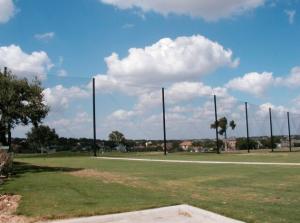 Golf Netting Installation