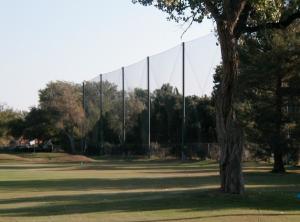 Golf Course Netting Installation