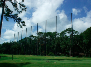 North Carolina Golf Range Netting