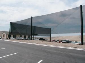 Landfill Barrier Netting