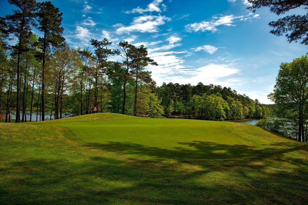 Golf Course Netting Barrier